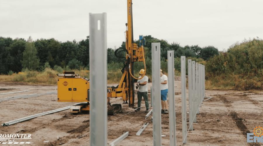 50 kW na konstrukcjach Energy5 w północnej Polsce [FILM]