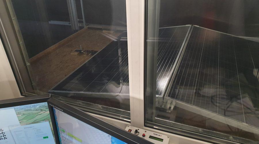 Badania systemów zamocowań firmy Energy5 w tunelu aerodynamicznym