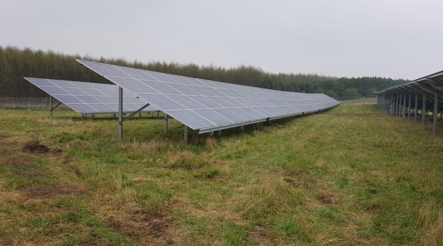 Konstrukcje Energy5 na farmie PV o mocy 0.7 MW