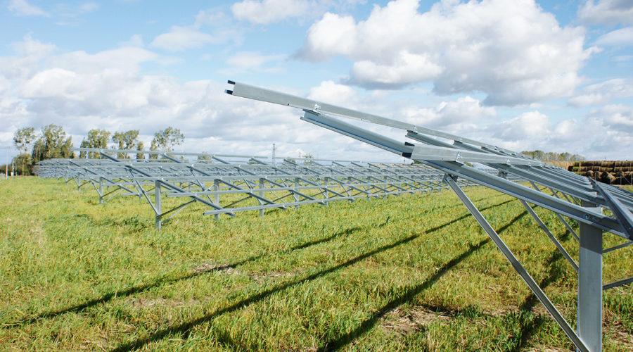 REALIZACJA KONSTRUKCJI NAZIEMNYCH DLA INSTALACJI O ŁĄCZNEJ MOCY 10 MW