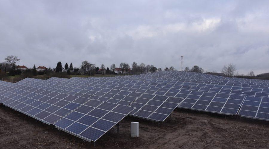 Konstrukcje Energy5 na instalacji fotowoltaicznej o mocy ~1MW