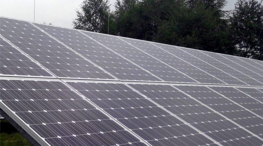 Konstrukcje Energy5 na budowie elektrowni fotowoltaicznej w Białogardzie