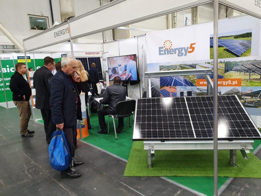 Energy5 na Ukrainie – targi ENERGY EFFICIENCY. RENEWABLE ENERGY
