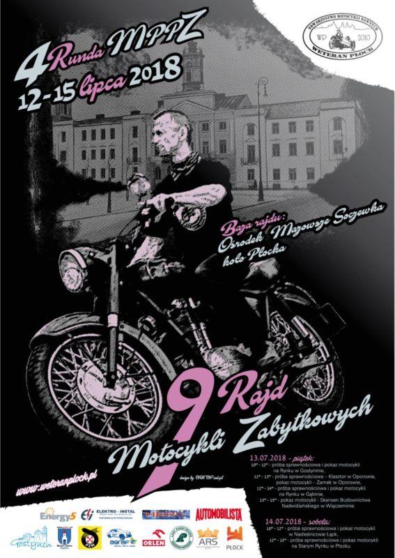 Energy5 sponsorem 9 Rajdu Motocykli Zabytkowych