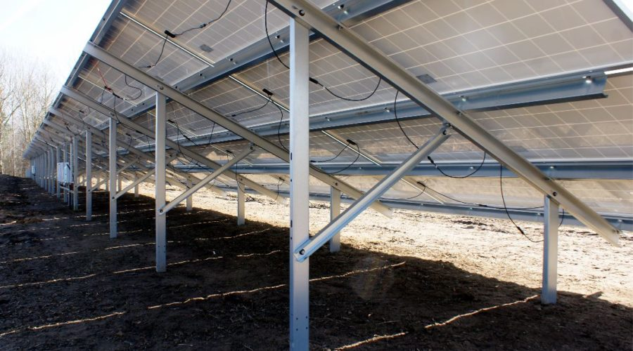 Budowa farmy fotowoltaicznej o mocy 2 MW w Tomaszowie Lubelskim  już na półmetku