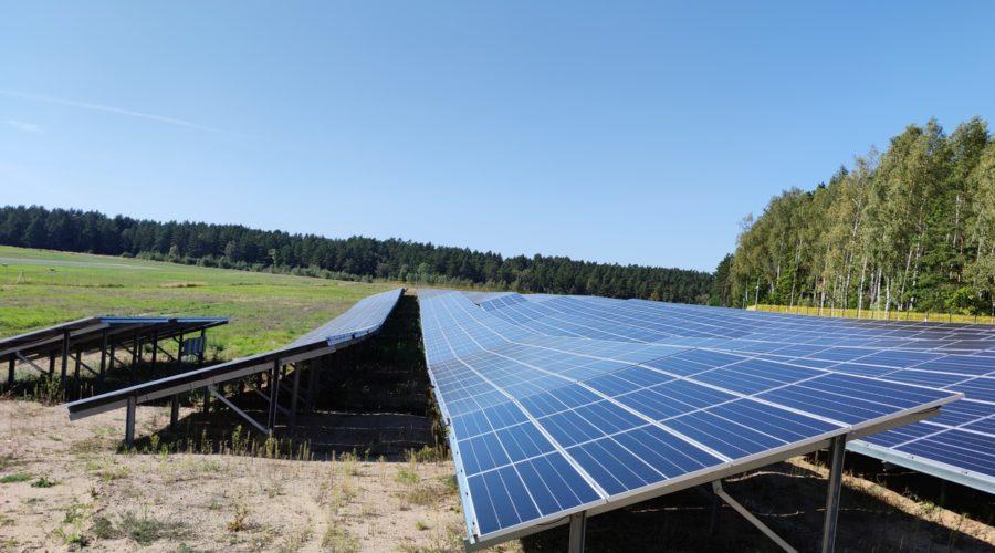 Rozbudowa farmy PV w północno-wschodniej Polsce
