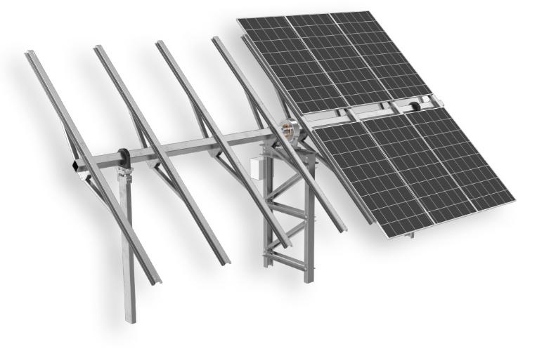 Tracker fotowoltaiczny – nowy system ruchomy Energy5