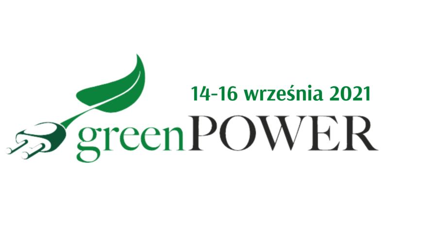 Zapraszamy na targi GreenPower 2021!